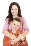 Mère et fils Photo stock