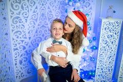 Mère et garçon Photos stock