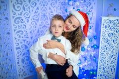 Mère et garçon Images libres de droits