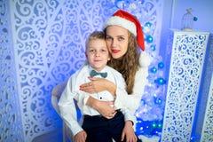 Mère et garçon Photos libres de droits