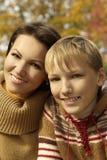Mère et son enfant Photo libre de droits