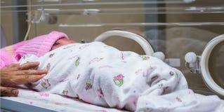 Mère et un nouveau-né Photographie stock