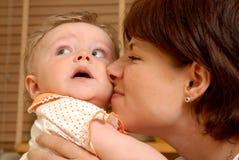 Mère heureuse Photographie stock libre de droits