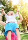 mère heureuse d'enfant Photographie stock