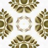 Mère imprimée à la main de kaléidoscope de batik Photographie stock libre de droits