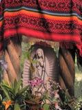 Mère Mary au jardin botanique Image libre de droits