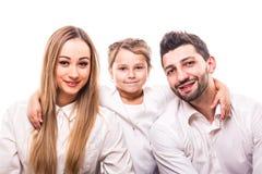 Mère, père et descendant Photographie stock