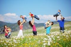 Mères avec des enfants Photos libres de droits