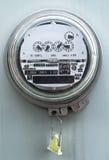 Mètre électrique Photographie stock libre de droits