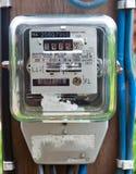 Mètre électrique Photos stock