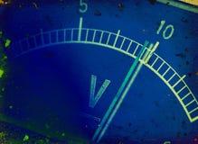 Mètre électrique Images libres de droits