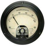 Mètre électrique de vintage photo libre de droits