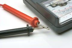 Mètre électronique Photographie stock libre de droits