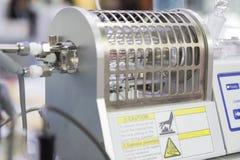 Mètre coulométrique chimique d'humidité image stock