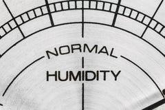 Mètre d'humidité Images libres de droits