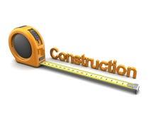 Mètre de construction Photographie stock