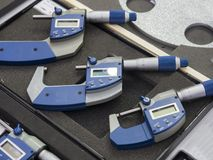 Mètre de mocro de haute précision pour l'inspection industrielle de qualité photo libre de droits