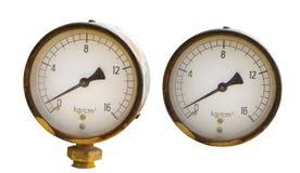 Mètre de pression Image stock
