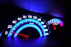 Mètre de vitesse photo libre de droits