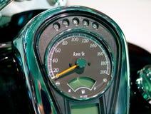 Mètre de vitesse image stock