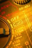 Mètre multi électrique Photos libres de droits