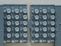 Mètres électriques de Digital Images stock