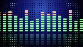 Mètres de la musique vu illustration de vecteur