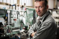 Mécanicien au travail Photographie stock libre de droits