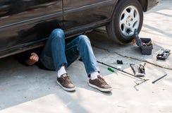 Mécanicien automobile Photo stock