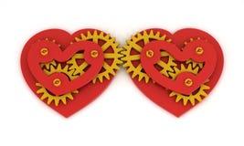 Mécanicien d'amour illustration libre de droits