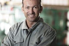Mécanicien de sourire Photo stock
