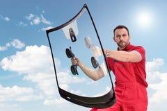 Mécanicien de véhicule Photos libres de droits