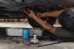 Mécanicien de véhicule Images libres de droits