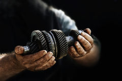 Mécanicien de voiture Photographie stock libre de droits
