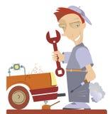 Mécanicien Illustration Photos stock