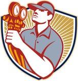 Mécanicien Shield de climatisation de réfrigération Photo stock