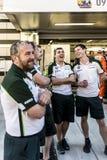 Mécanique d'équipe de Caterham F1 Images stock