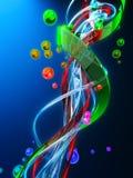 Mécanique moléculaire. illustration libre de droits