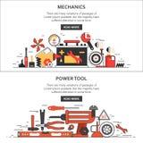 Mécanique, outils Image libre de droits