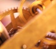 Mécanisme d'horloge Photo libre de droits