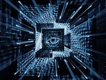 Mécanisme d'observation Image libre de droits