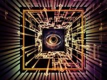 Mécanisme d'observation Images libres de droits