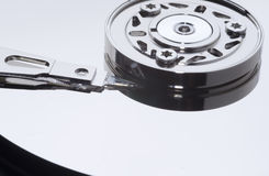 Mécanisme d'unité de disque dur Photo libre de droits