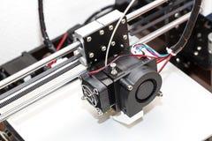 mécanisme de l'imprimante 3d Image stock