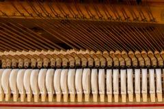 Mécanisme de piano Images libres de droits