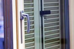 Mécanisme de poignée de porte Photo stock