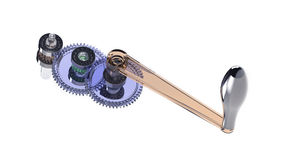 Mécanisme de vitesse Photo stock