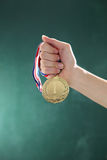 médaille image stock