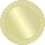Médaille d'or. Image libre de droits