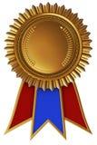 Médaille d'accomplissement avec le ruban illustration libre de droits